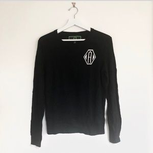 C Wonder Hexagon A Insignia Crewneck Sweater